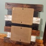 Custom Order for Stephanie: Double Pallet Picture Frame